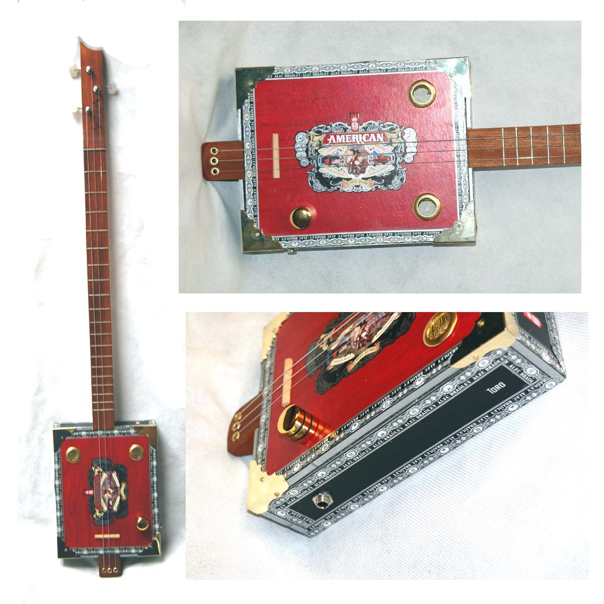 Strumma Cigar Box Guitars and Parts