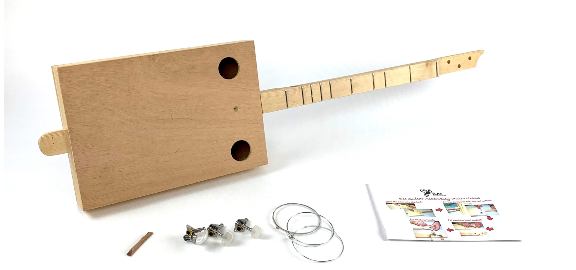 DIY Kit Cigar Box Guitar
